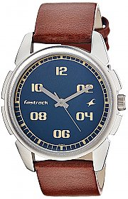 Fastrack Casual Analog Blue Dial Men's Watch - 3124SL02