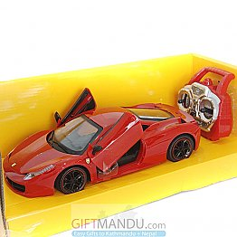 Remote Control High Powered Racing Sports Car - Open Door (Red)