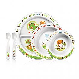 Philips Avent SCF716/00 Toddler Mealtime Set 6+ Months