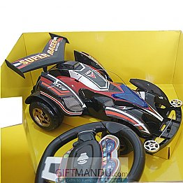 Remote Control High Powered Racing Sports Car - Sterring Wheel Control
