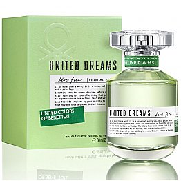 United Dreams Live Free Benetton For Women